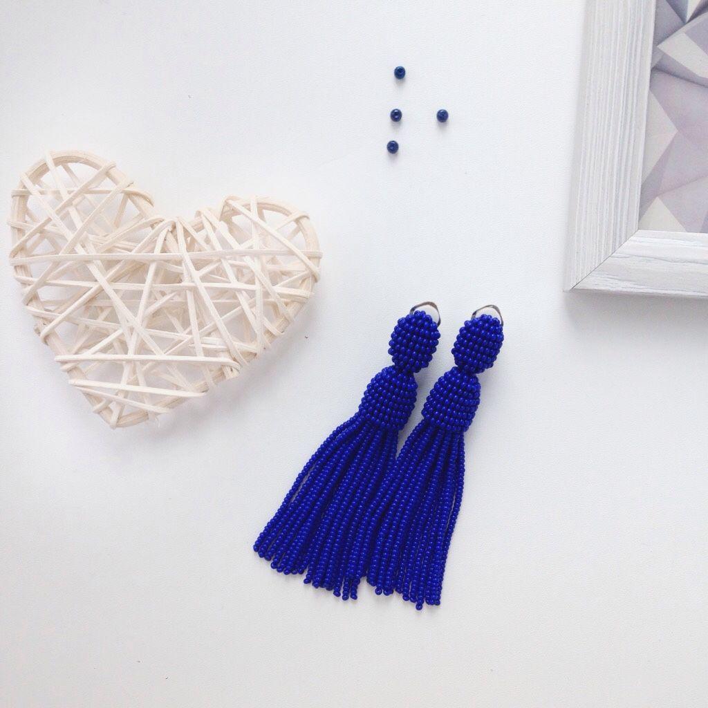 Beads earrings, Earrings, Ufa,  Фото №1