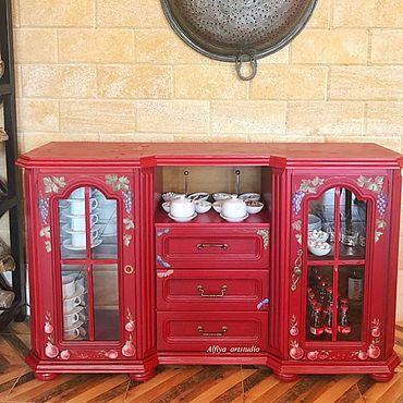 """Мебель ручной работы. Ярмарка Мастеров - ручная работа Комод """"багряная осень """". Handmade."""