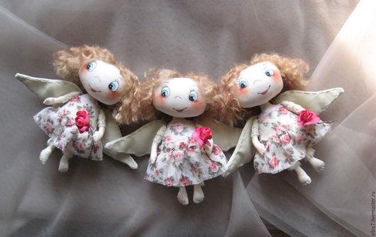 Коллекционные куклы ручной работы. Ярмарка Мастеров - ручная работа. Купить Рыжие ангелочки 2. Handmade. Ангел, ангелочек