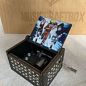 Подарки к праздникам handmade. Livemaster - original item Naruto Music Box-Sadness and sorrow. Handmade.