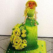 Цветы и флористика ручной работы. Ярмарка Мастеров - ручная работа Сладкая Барби-2. Handmade.