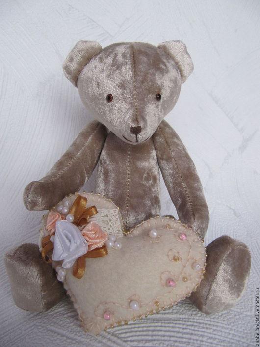 Мишки Тедди ручной работы. Ярмарка Мастеров - ручная работа. Купить Медведь Теодор. Handmade. Бежевый, медведь, подарок