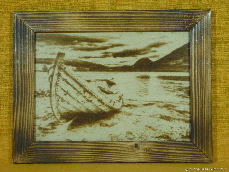 Лодка, Картины, Кострома,  Фото №1