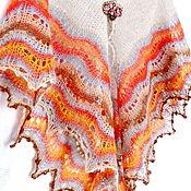 Аксессуары handmade. Livemaster - original item Holden Shawl. Hand Knitted Shawl, Women shawl. Handmade.