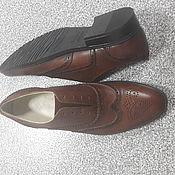 Обувь ручной работы. Ярмарка Мастеров - ручная работа Мужские туфли. Handmade.