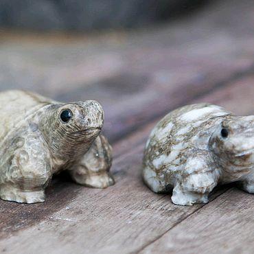 Для дома и интерьера ручной работы. Ярмарка Мастеров - ручная работа Черепашка из камня. Handmade.