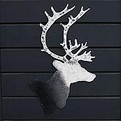 Для дома и интерьера ручной работы. Ярмарка Мастеров - ручная работа Силуэт Оленя. Handmade.