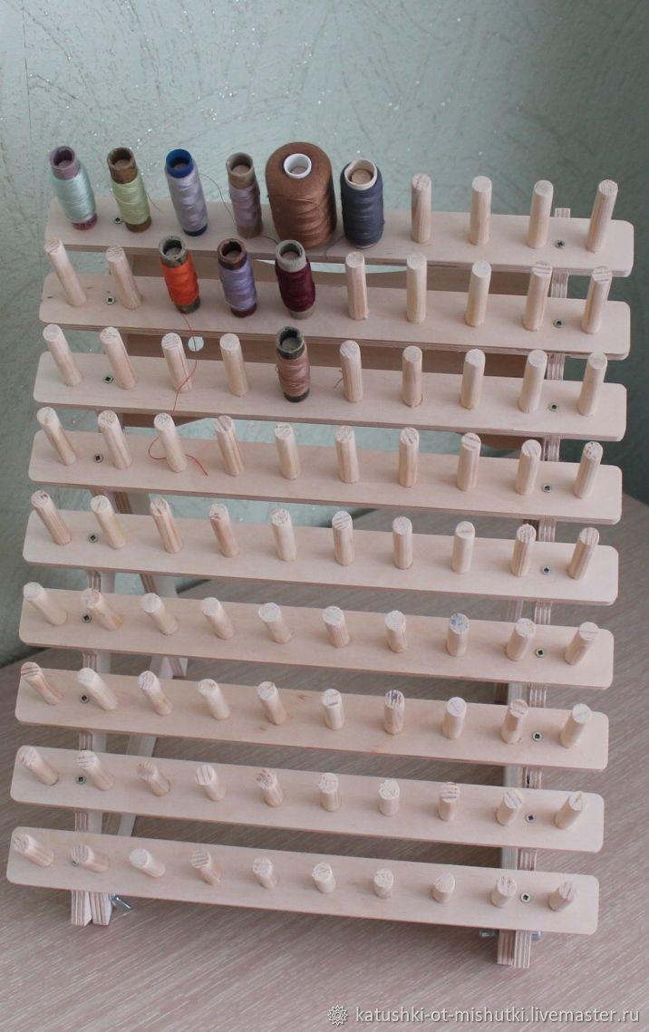 Органайзер для катушек с нитками (заготовка). С креплением на стену, Органайзеры для рукоделия, Пенза, Фото №1