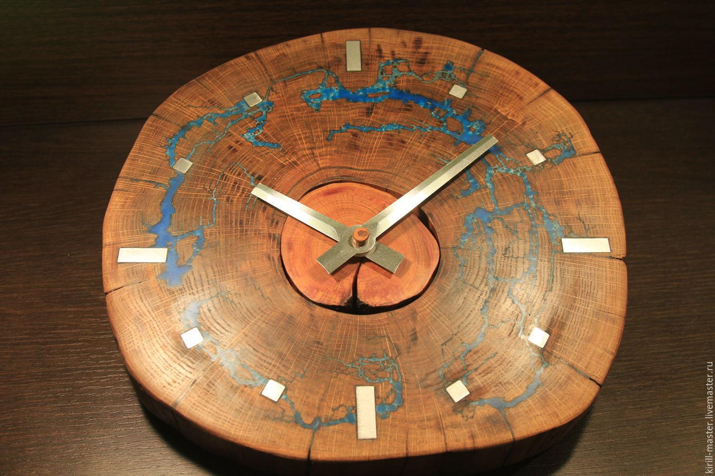Оригинальные часы из дерева своими руками: Дом 8