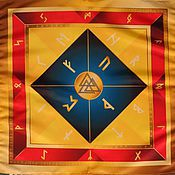 Фен-шуй и эзотерика handmade. Livemaster - original item Rune cloth on the altar Celtic Wicca Runes. Handmade.
