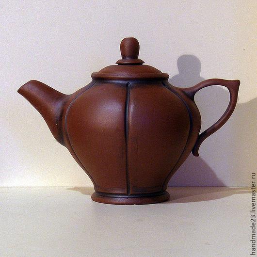 """Чайники, кофейники ручной работы. Ярмарка Мастеров - ручная работа. Купить чайник ручной работы """"файф-о-клок 2"""". Handmade."""