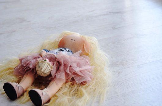 Куклы тыквоголовки ручной работы. Ярмарка Мастеров - ручная работа. Купить Крошка енот. Handmade. Кукла ручной работы