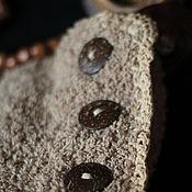 Аксессуары ручной работы. Ярмарка Мастеров - ручная работа Снуд на пуговицах. Handmade.