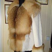 Одежда handmade. Livemaster - original item Sheared beaver jacket with Fox collar. Handmade.