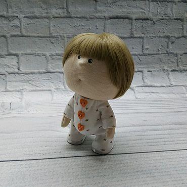 Куклы и игрушки ручной работы. Ярмарка Мастеров - ручная работа Текстильная кукла Малышка 5. Handmade.