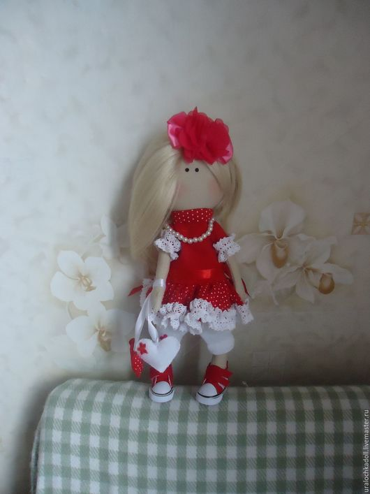 Интерьерная кукла от Токмаковой Елены