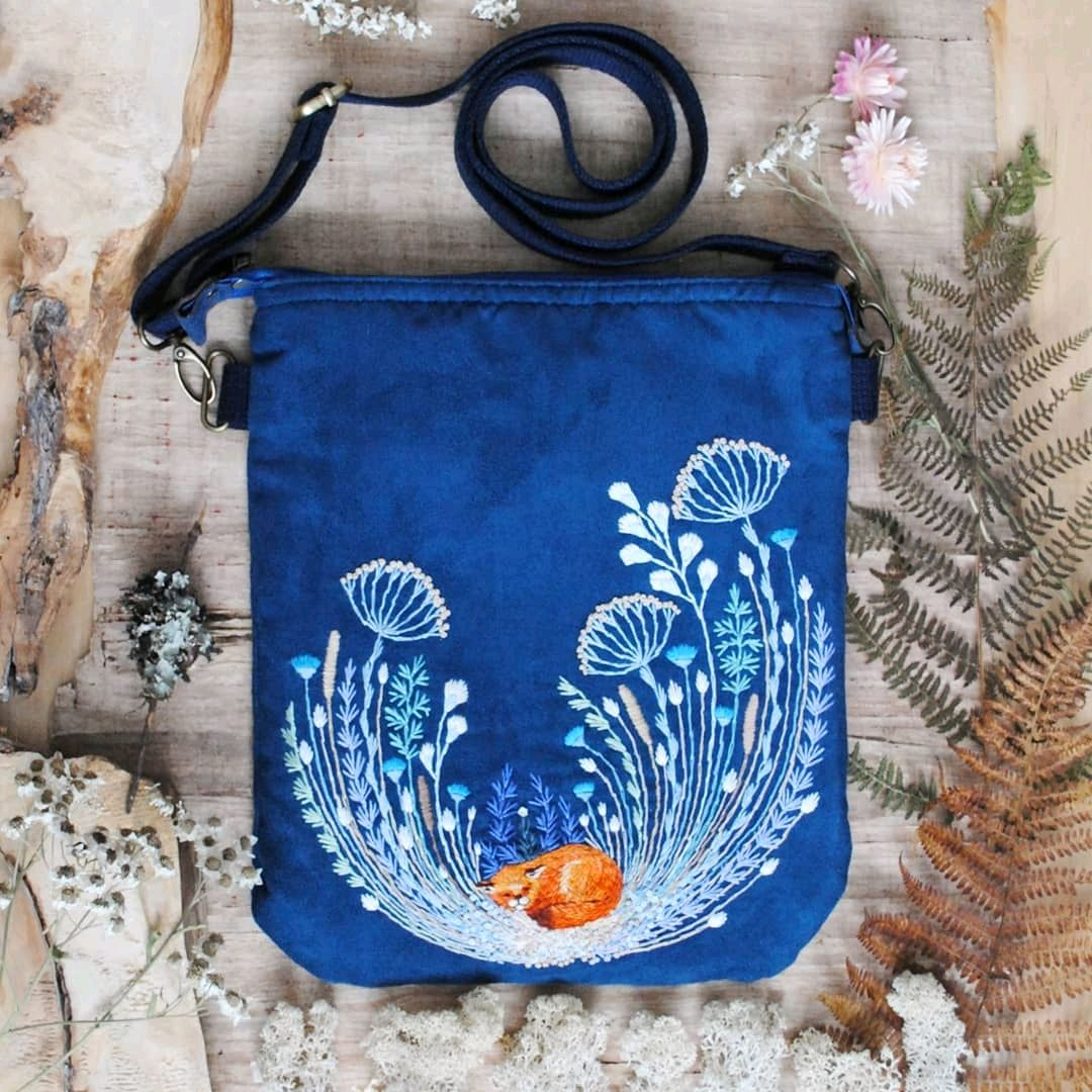 Shoulder bag 'Fox', Crossbody bag, Rybinsk,  Фото №1