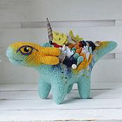 Куклы и игрушки ручной работы. Ярмарка Мастеров - ручная работа Маленький морской рифовый дракон. Handmade.