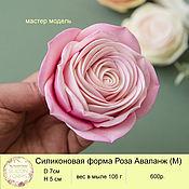 handmade. Livemaster - original item Silicone soap mold rose Avalange M. Handmade.