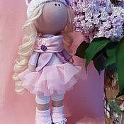 Куклы и игрушки ручной работы. Ярмарка Мастеров - ручная работа Интерьерная текстильная кукла большеножка Кисуня. Handmade.