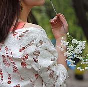 """Одежда ручной работы. Ярмарка Мастеров - ручная работа Валяное платье и жилет """"Танец бабочки"""". Handmade."""