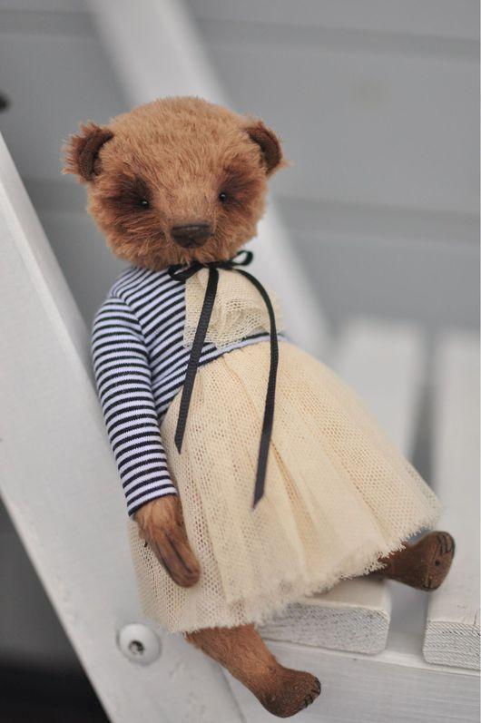 Мишки Тедди ручной работы. Ярмарка Мастеров - ручная работа. Купить Мишка. Handmade. Бежевый, мишка-тедди, teddybear
