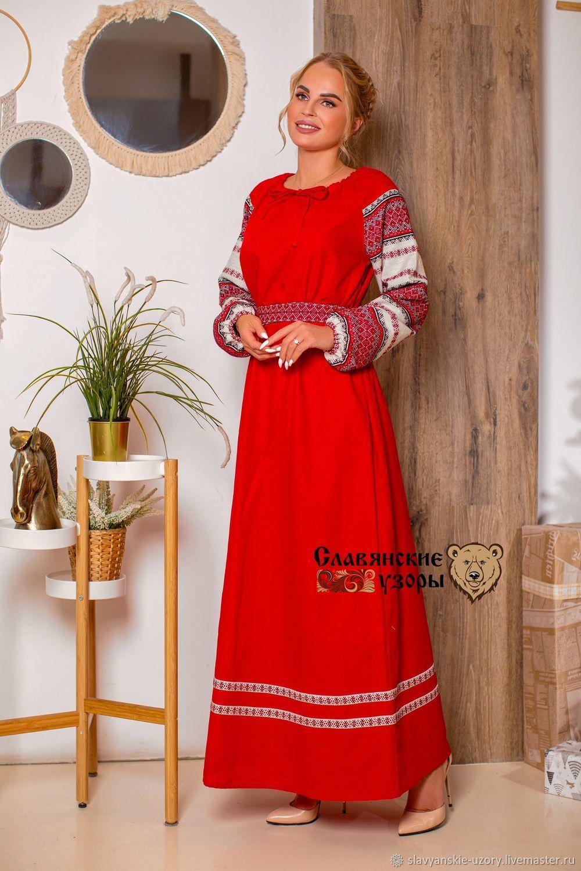 Dress traditional 'Star of Russia', Dresses, St. Petersburg,  Фото №1