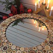 Для дома и интерьера ручной работы. Ярмарка Мастеров - ручная работа Зеркало D - изделия 60 см/зеркала 40 см. Handmade.