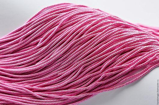 Вышивка ручной работы. Ярмарка Мастеров - ручная работа. Купить Канитель витая 3мм. Handmade. Розовый, материалы для вышивки
