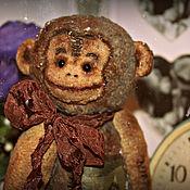 """Куклы и игрушки ручной работы. Ярмарка Мастеров - ручная работа """"Джеки"""" обезьянка. Handmade."""