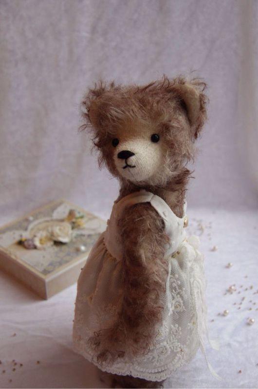 Мишки Тедди ручной работы. Ярмарка Мастеров - ручная работа. Купить Люся. Handmade. Мишка тедди, мишка, teddybear, миништоф