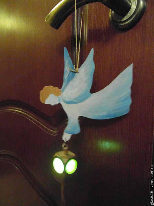 Подарки на Пасху ручной работы. Ярмарка Мастеров - ручная работа. Купить Ангел с фонариком. Handmade. Ангел хранитель, светильник