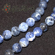 Материалы для творчества handmade. Livemaster - original item Sodalite beads 8 mm (natural stone). Handmade.