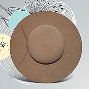 Аксессуары handmade. Livemaster - original item Floppy beige. Handmade.