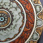 Посуда ручной работы. Ярмарка Мастеров - ручная работа Блюда из шамота. Handmade.