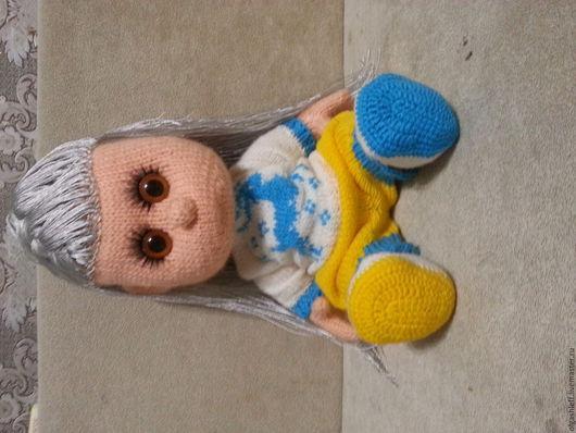 Коллекционные куклы ручной работы. Ярмарка Мастеров - ручная работа. Купить Северяночка. Handmade. Кукла на заказ, красивая вязаная кукла