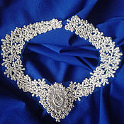 Одежда ручной работы. Ярмарка Мастеров - ручная работа Кружевное серебро. Handmade.