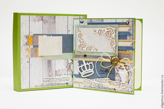 Открытки для мужчин, ручной работы. Ярмарка Мастеров - ручная работа. Купить Мужская открытка в коробке 11. Handmade.