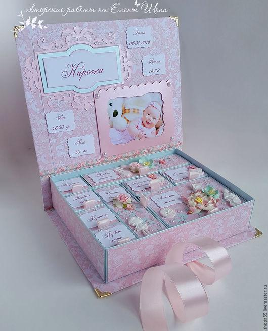 """Подарки для новорожденных, ручной работы. Ярмарка Мастеров - ручная работа. Купить Мамины сокровища """"Нежная романтика 2"""" мамины сокровища для девочки. Handmade."""