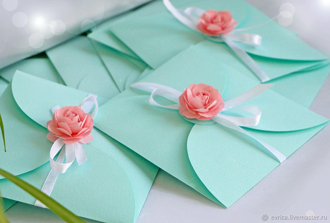 'Tiffany's' invitations, Invitations, Moscow,  Фото №1