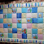 Для дома и интерьера ручной работы. Ярмарка Мастеров - ручная работа одеяло детское. Handmade.