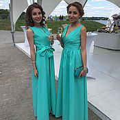 Одежда ручной работы. Ярмарка Мастеров - ручная работа Платье подружки невесты-4. Handmade.