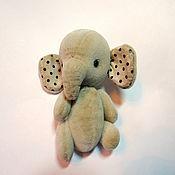 Куклы и игрушки ручной работы. Ярмарка Мастеров - ручная работа Слон Кремовый. Handmade.