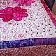 """Текстиль, ковры ручной работы. Покрывало """"Венок"""". Family Tree Quilt  Семейное Древо. Ярмарка Мастеров. Аппликация из ткани, декоративное"""