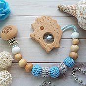 Мягкие игрушки ручной работы. Ярмарка Мастеров - ручная работа Эко-держатель с грызунком из дерева. Handmade.