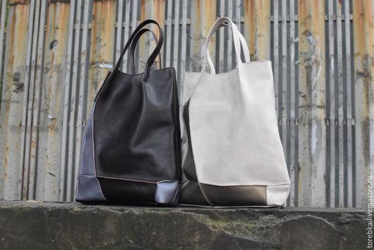 Женские сумки ручной работы. Ярмарка Мастеров - ручная работа. Купить Тоут. Handmade. Бордовый, светлый, геометрия, треугольник