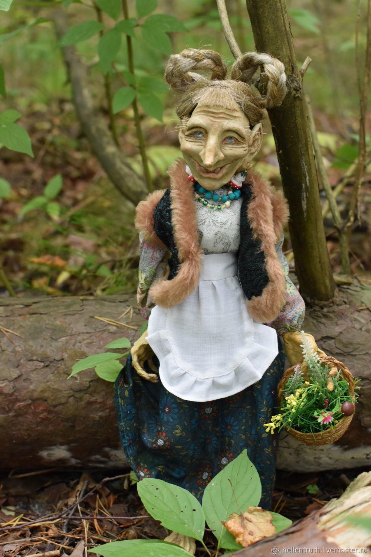 Кикимора-кухарочка, Интерьерная кукла, Петергоф,  Фото №1