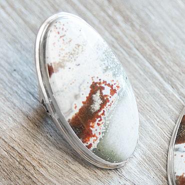 Украшения ручной работы. Ярмарка Мастеров - ручная работа Яшма (кольцо) (816). Handmade.