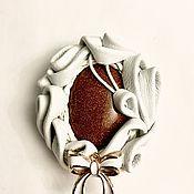 Украшения handmade. Livemaster - original item The Emilia Brooch. Handmade.