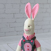 Куклы и игрушки ручной работы. Ярмарка Мастеров - ручная работа Зайка Вилли. Handmade.